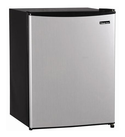 MCBR240S1 2.4 cu.ft. Refrigerator STAINLESS by Magic Chef