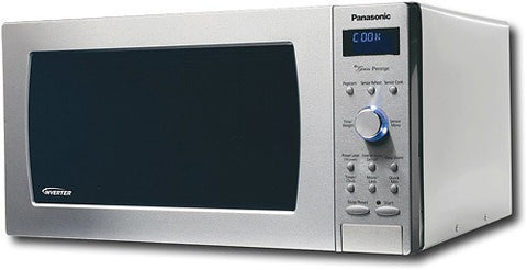 Panasonic - 2.2 Cu. Ft. Full-Size Microwave - Stainless Steel