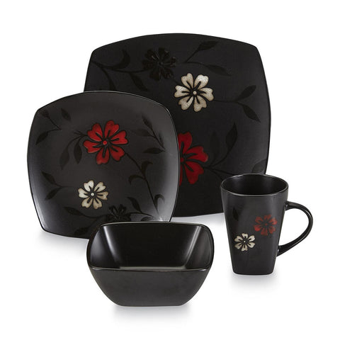 Gibsons Essential Home Mystic Floral 16pc Dinnerware Set