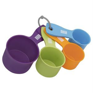 4pc Measuring Cup Set-Color
