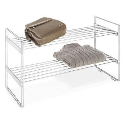 Stackable Closet Shelves 2Tier