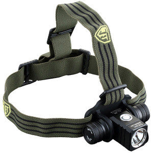 HR25 Rechargeable Headlamp, OD Green, 800 lm, 1x 18650