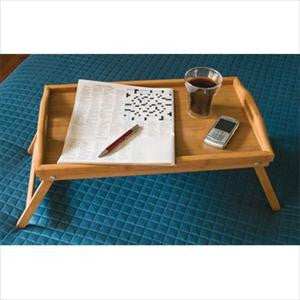 Bamboo Bed Tray W/ Folding Legs