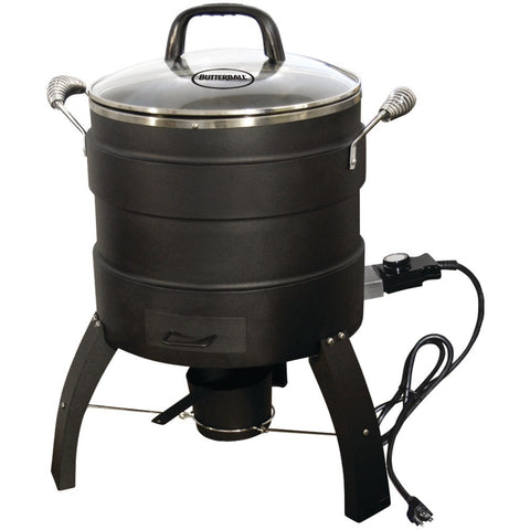 BUTTERBALL 20100809 18lb-Capacity Electric Oil-Free Turkey Fryer