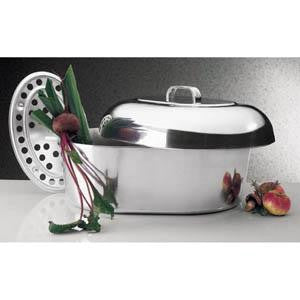 "18"" Oval Covered Roaster"