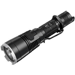 MH27 Tactical Flashlight, Black, 1000 lm, 1 x 18650