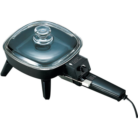 "Brentwood Electric Skillet With Glass Lid (6""; 600w)"