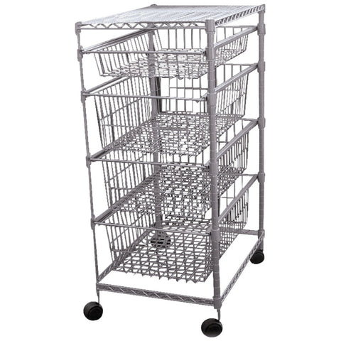 Generic 4-drawer Storage Cart