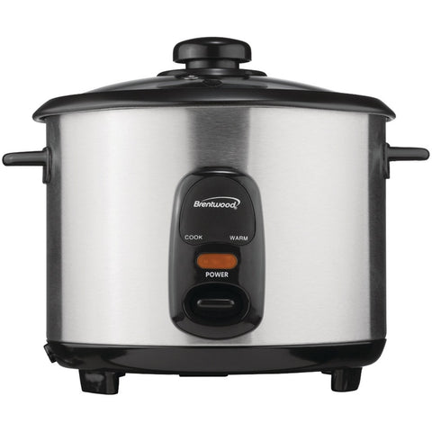 Brentwood 5-cup Stainless Steel Rice Cooker