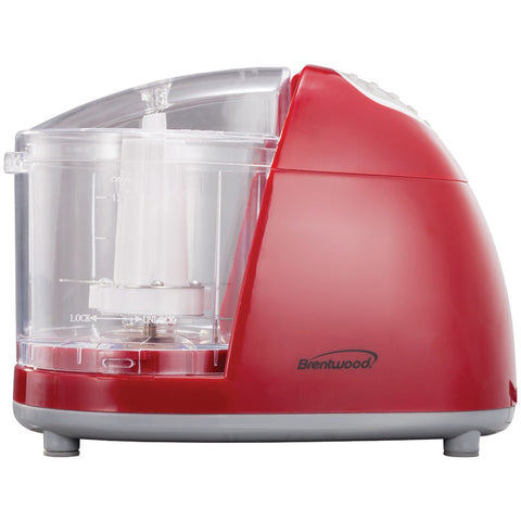Brentwood Mini Red Food Chopper