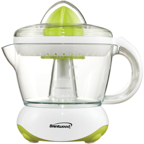 Brentwood White Citrus Squeezer And Juicer