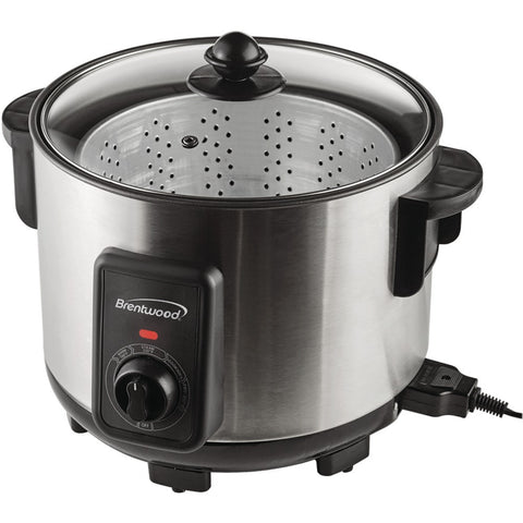 Brentwood 5.2-quart Stainless Steel Deep Fryer And Multicooker
