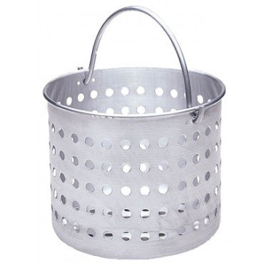 Aluminum Steamer Basket - Fits 20 qt Stock Pot