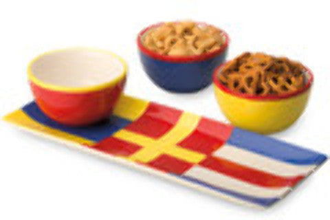 tidbit-bowls-and-tray-set:-nautical-flags