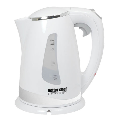 Better Chef Cordless Electric Kettle- White
