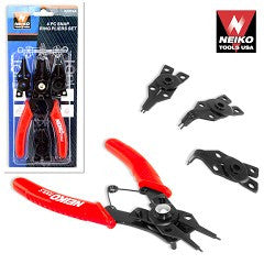 Neiko 4pcs Snap Ring Plier Set