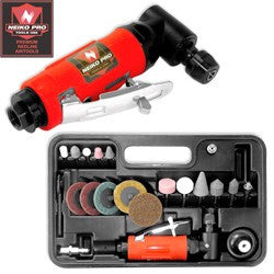 NEIKO PRO 22pc. Air Angle Die Grinder Kit