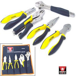 5pcs Plier/Wrench Combo