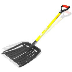 "Poly Scoop Shovel w/ ""D"" Fiberglass Handle"