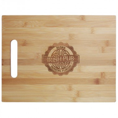 Personalized Large Bamboo Cutting Board