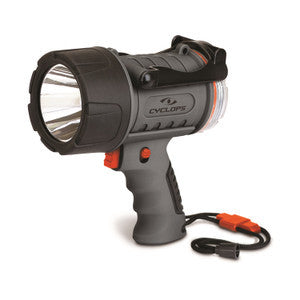 Cyclops 300 Lumen Rechargeable Water Proof Spotlight-Grey