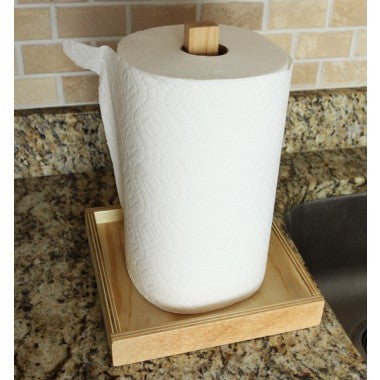 Natural Paper Towel Holder