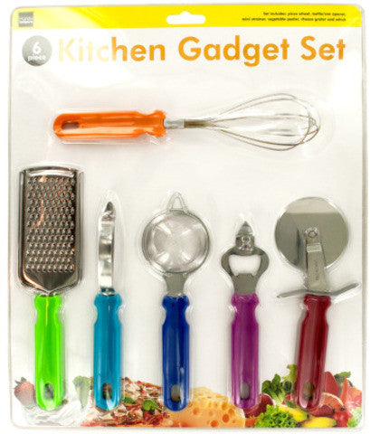 kitchen-gadget-set---green,-blue,-red,-orange,-silver,-magenta