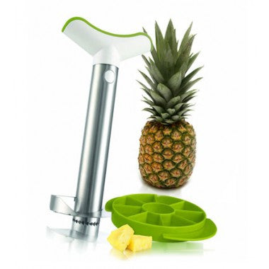 Stainless Steel Pineapple Slicer with Wedger