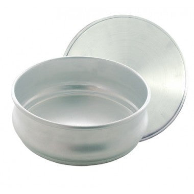 Stacking Pizza Dough Pan - 96 ounce ( With Cover )