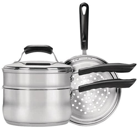 range-kleen---basics-3-quart-saucepan-with-double-boiler/steamer-insert-set