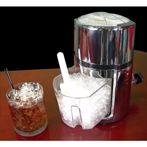 Chrome Round Ice Crusher