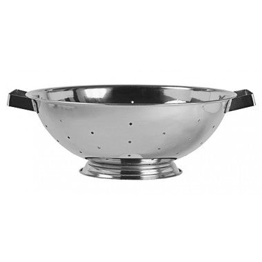 Kitchen Colanders - Stainless Steel with Base - 8 quart