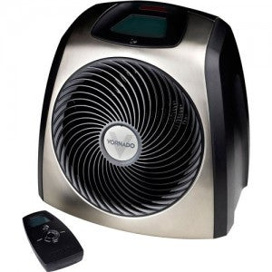 Vornado TVH 600 (EH1-0036-46) TouchStone Vortex Electric Space Heater w/Remote Control - Chrome (Open Box Item)  ( 2 Year warranty )