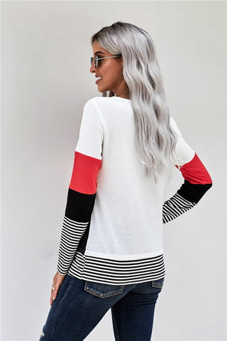 Eden Red Sweater Top