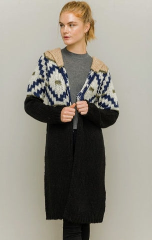 HT Hooded Cardigan