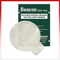 "Beacon Chest Seal Non-Vented 6"" Round"