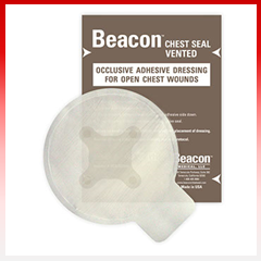 "Beacon Chest Seal Vented 6"" Round"