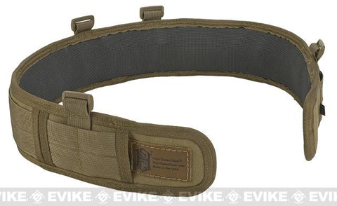 HSG High Speed Gear Slim Grip Padded Belt, Slotted, Olive Drab (color) 30.5""