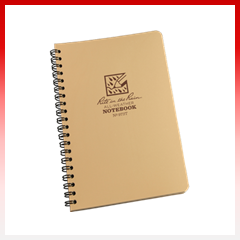 Rite in the Rain Side Spiral Tactical Notebooks