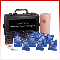 Quikclot Hemorrhage Control Training Kit Le Rally Point