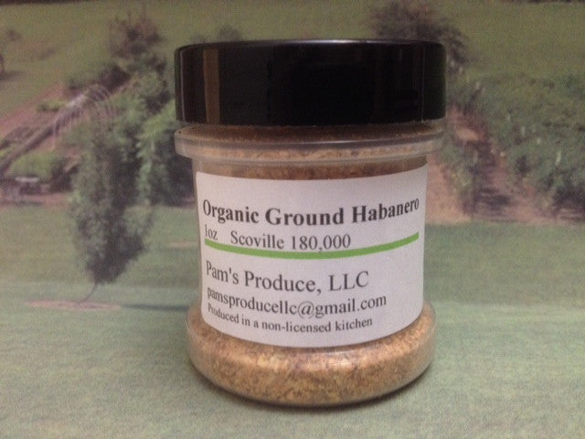 Pepper Powder - Habanero -1 oz