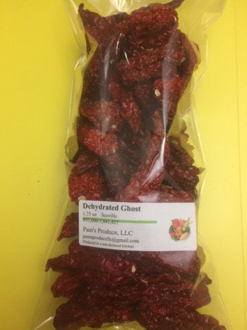 Dehydrated Ghost Pepper - 1.75 oz - Whole