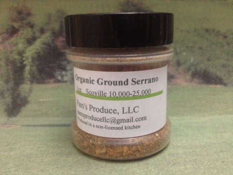 Pepper Powder - Serrano