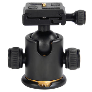 Yescom Swivel Tripod BallHead Quick Release Plate w/ Ball Head