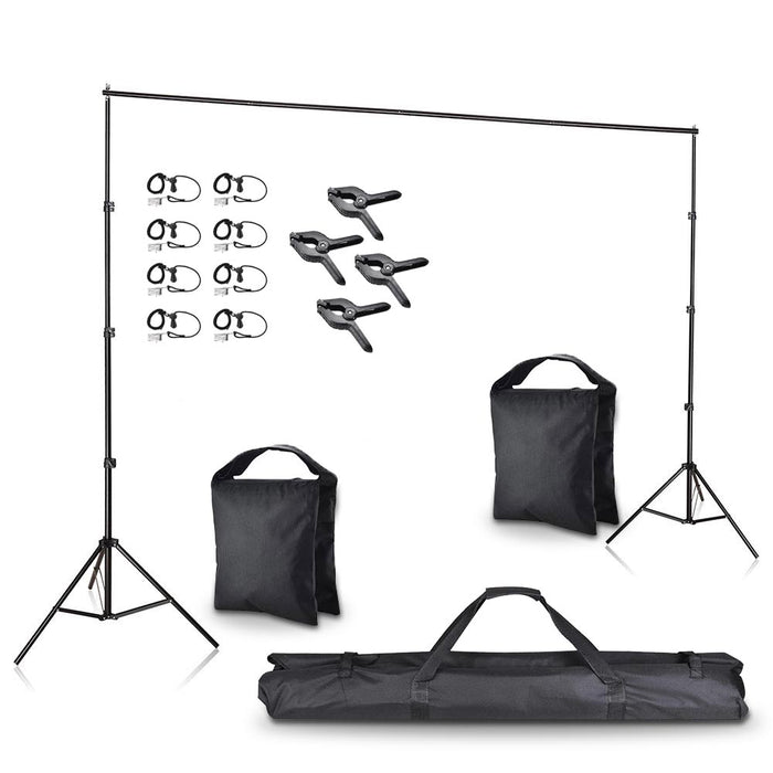 "Yescom 10'x 8' 6"" Adjustable Photography Background Support"