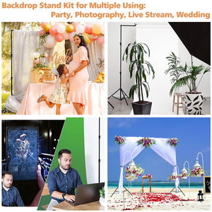 Yescom 10'x7' Adjustable Photography Background Support