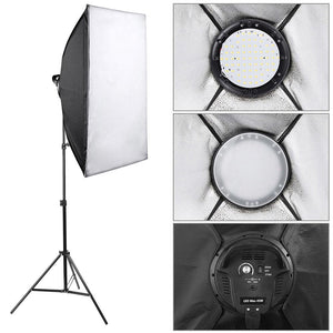 Yescom 20x28in Dimmable LED Softbox Lighting Kit, 2-Set