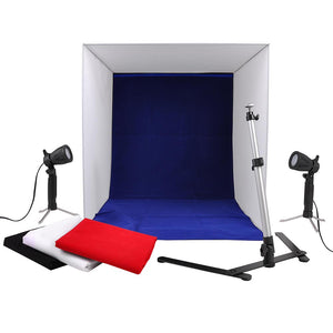 "Yescom 24"" Photography Soft Light Square Studio Tent Kit"
