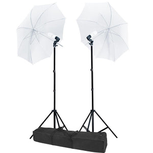 "Yescom 32"" Umbrella Studio Lighting 2 Constant Lights Kit (Preorder)"