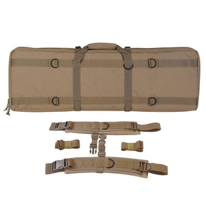36in Tactical Padded Double Gun Case Rifle Bag Color Options